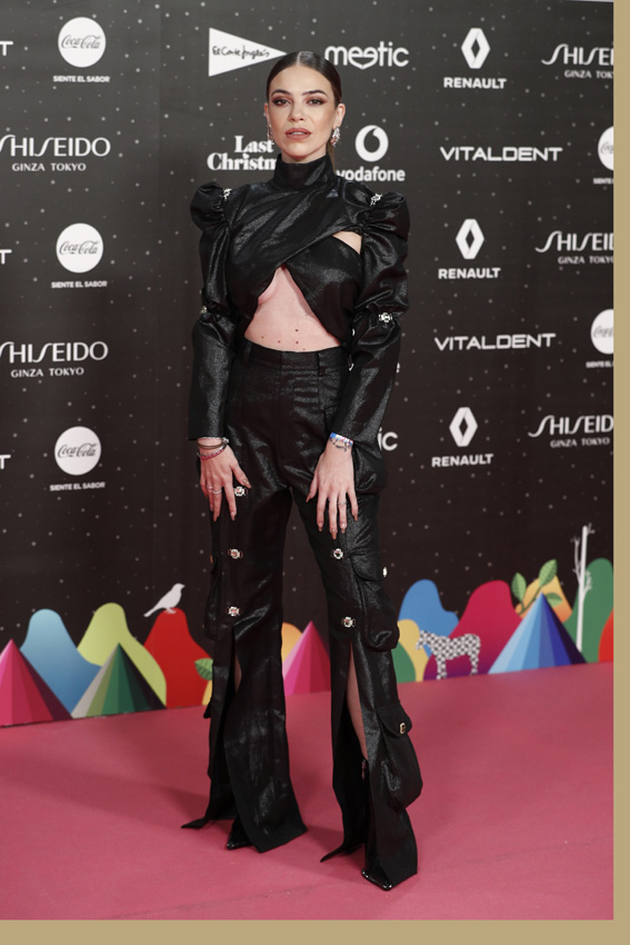 LOS40 Music Awards: Rosalía, Edurne, Alfred La alfombra