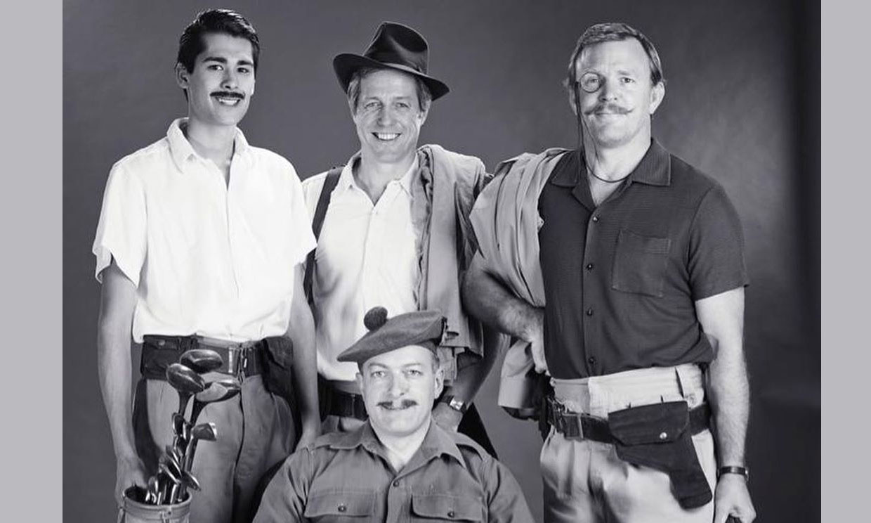 Guy Ritchie y Hugh Grant recrean una imagen de hace 65 años... ¡en la que aparecen sus padres juntos!