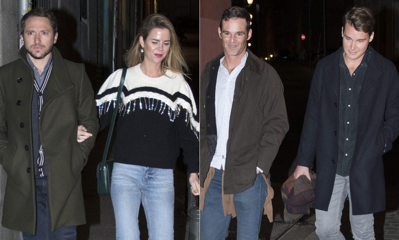 Amelia Bono y Manuel Martos salen a cenar con José Bono y su pareja, Aitor Gómez