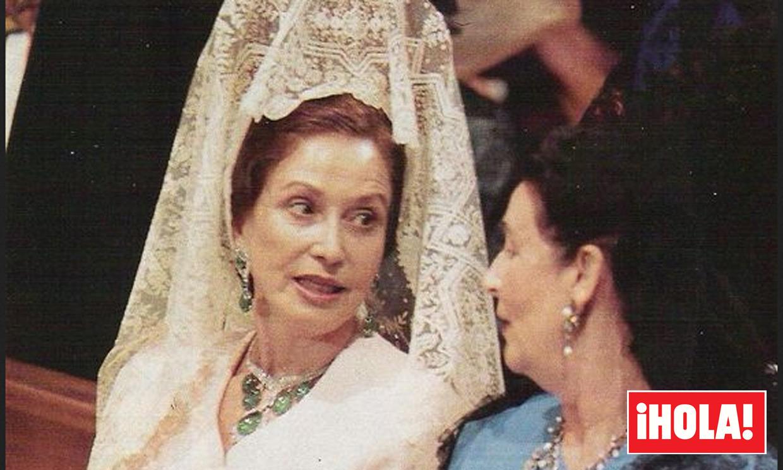 Salen a subasta las espectaculares esmeraldas de Carmen Franco junto a otras de sus joyas