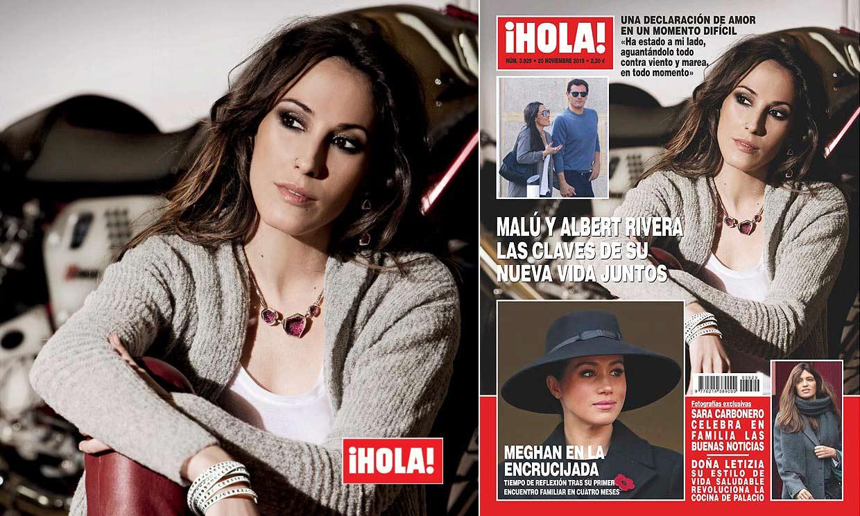 En ¡HOLA!: Malú y Albert Rivera, las claves de su nueva vida juntos