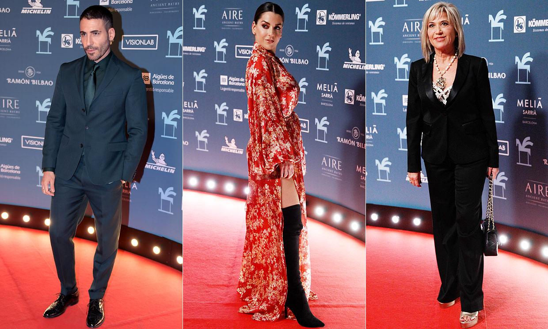 La alfombra roja de los Premios Ondas reúne a lo mejor del panorama audiovisual en Barcelona