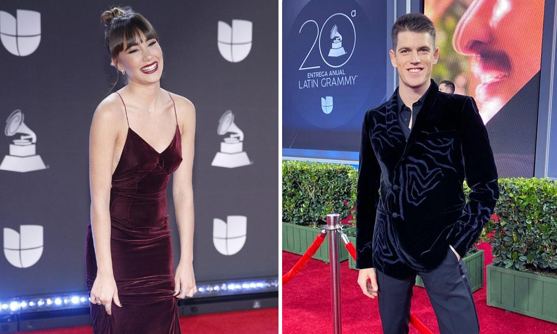 Aitana vive una noche mágica en los Grammy Latinos acompañada de Miguel Bernardeau