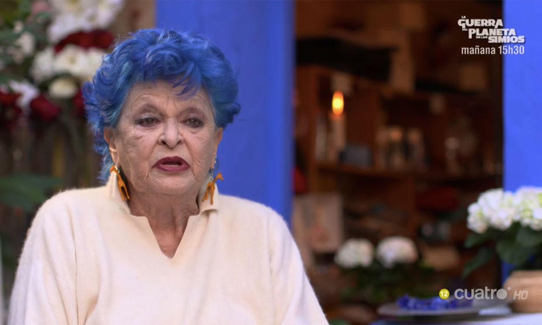 Lucía Bosé y la cena que sus invitados no entendieron en el estreno de 'Ven a Cenar Conmigo Gourmet'