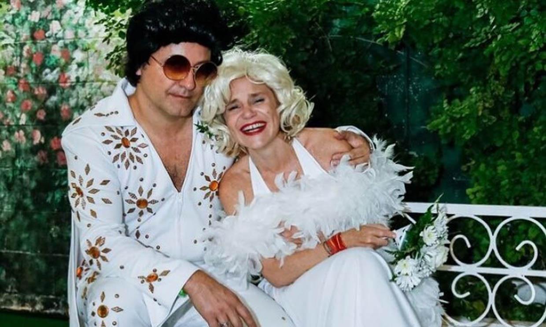 Feliz y enamorada: Eugenia Martínez de Irujo celebra el segundo aniversario de su boda 'a lo Marilyn'