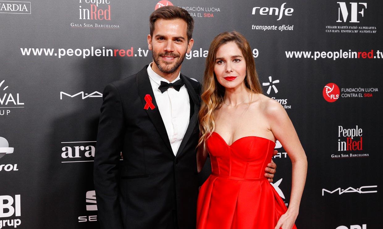 Marc Clotet y Natalia Sánchez, juntos por primera vez en la alfombra roja, cuentan a quién se parece su hija