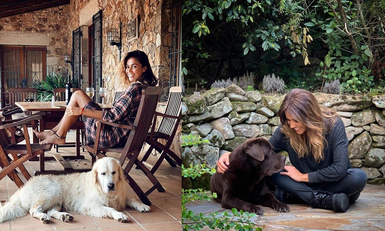 La foto de Lara Álvarez que pondrá celoso a alguien fundamental en su vida... su perro Choco