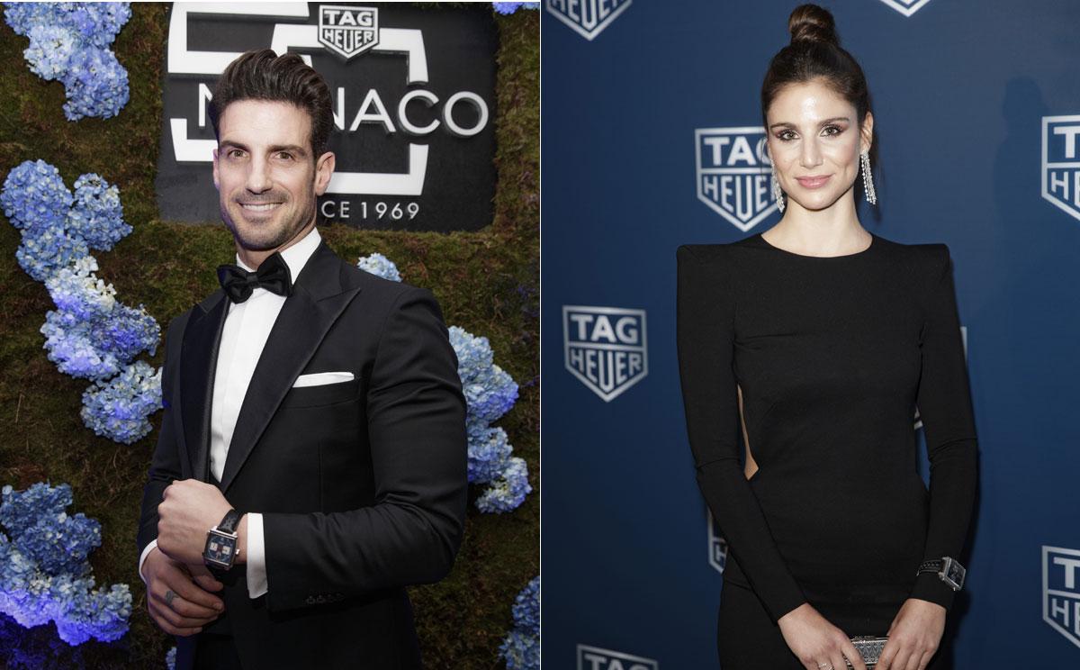 Carlos Sainz, Lucía Villalón y Aitor Ocio, entre los invitados a una fiesta llena de 'glamour'