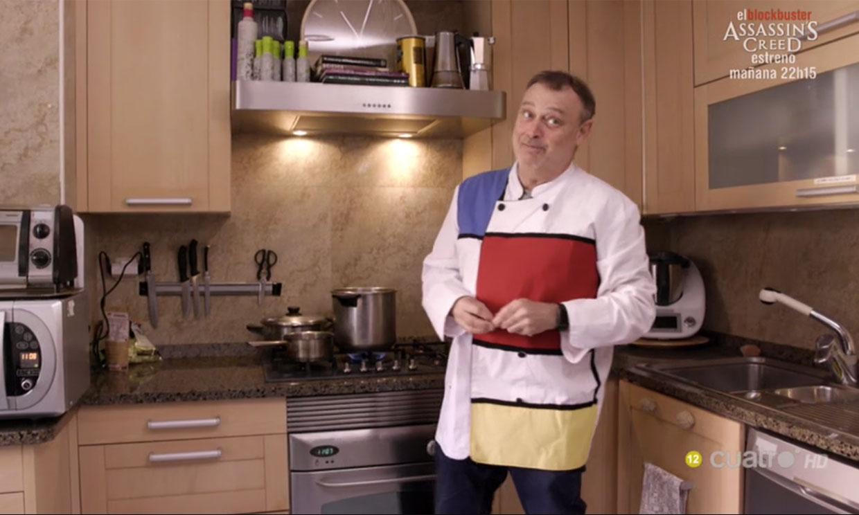 Pablo Carbonell ofrece una peculiar y 'picante' cena a sus invitados en 'Ven a cenar conmigo'