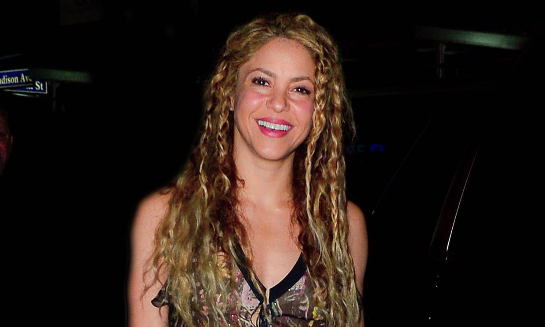 Así ensaya Shakira su actuación para la final de la Copa Davis