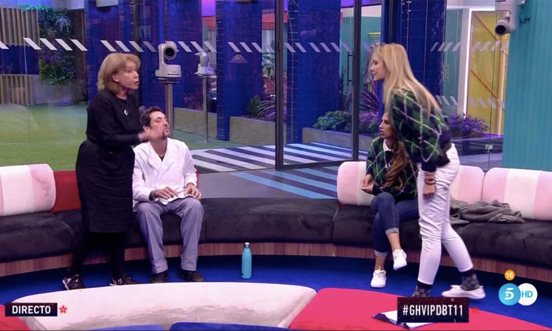 Mila Ximénez 'rompe' con Alba Carrillo para apoyar a Antonio David