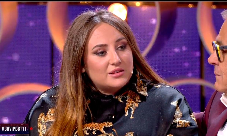 Rocío Flores estalla ante las acusaciones de Alba Carrillo a su padre