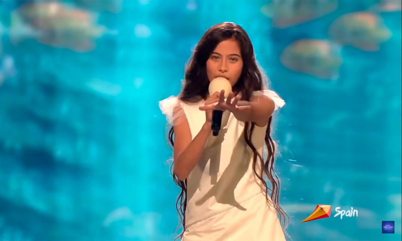 El secreto tras el look de Melani en 'Eurovisión Junior' que ha hecho aún más especial su actuación