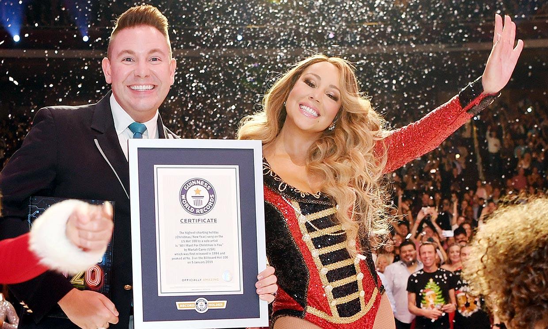 Mariah Carey se supera a sí misma y rompe nuevos récords de Navidad
