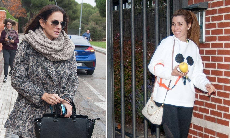 Tras confirmar en ¡HOLA! la fecha de su boda, Chenoa queda con Nuria Fergó y Natalia