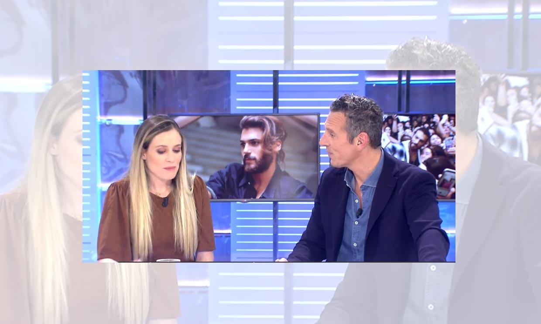 Andrea Prat comparte plató por primera vez con su hermano Joaquín: 'Me lo he pasado como una enana'