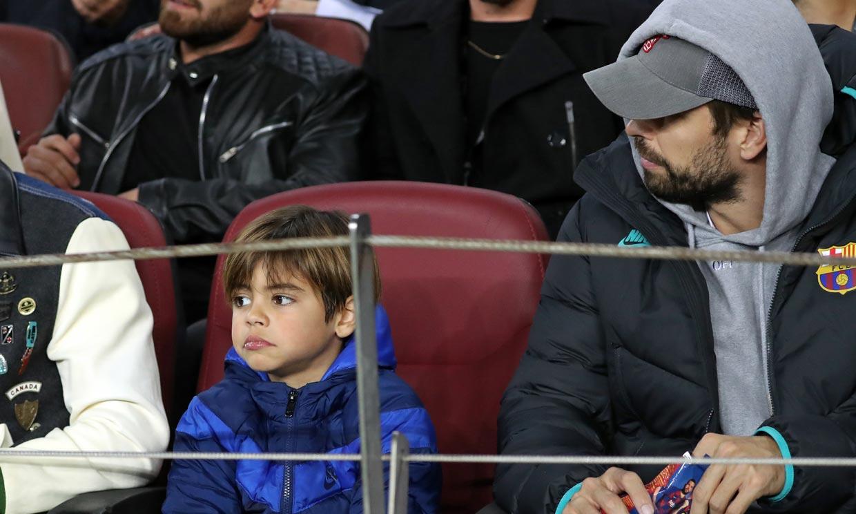 Piqué incluye a su hijo Milan en uno de sus planes preferidos