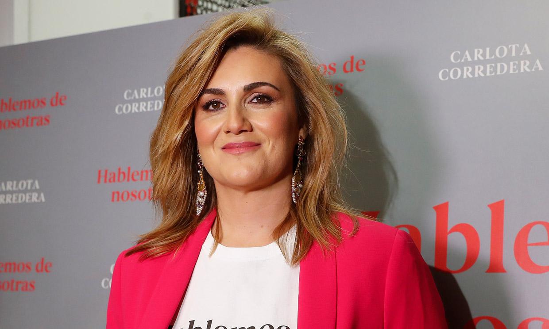 Carlota Corredera estrena nuevo 'look' para celebrar el éxito de su nuevo libro