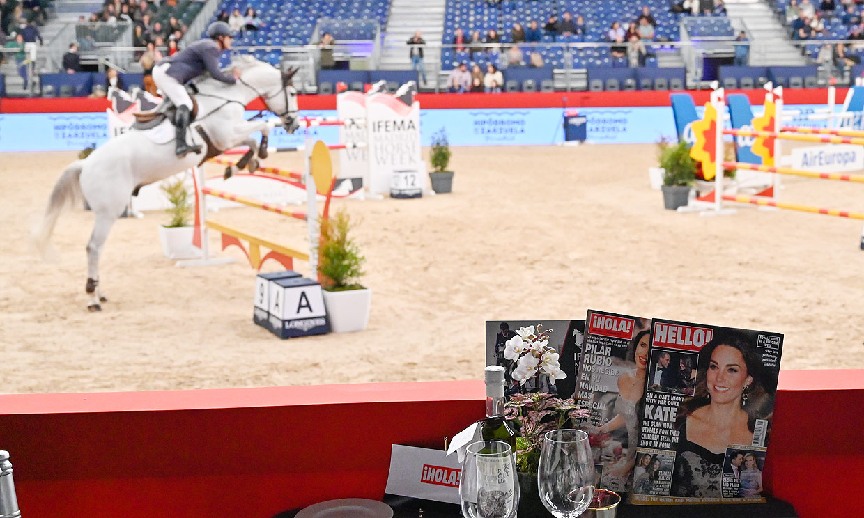 El trofeo ¡HOLA! de Madrid Horse Week ya tiene ganador: Eduardo Álvarez Aznar