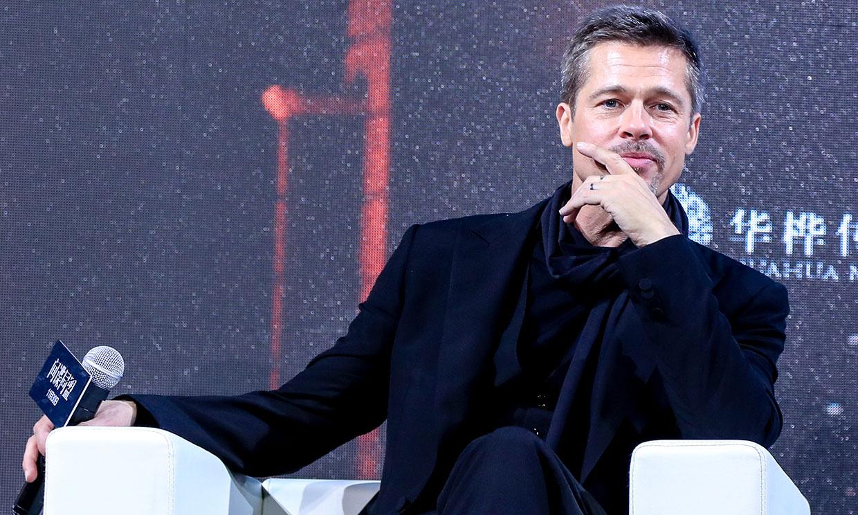 Brad Pitt descubre su lado más emocional a Anthony Hopkins