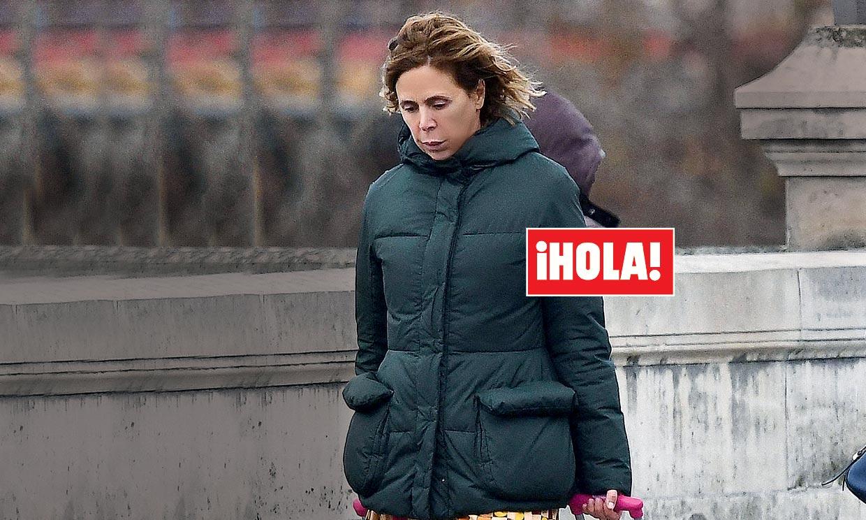 Exclusiva en ¡HOLA!, Ágatha Ruiz de la Prada reflexiona sobre el futuro de su relación