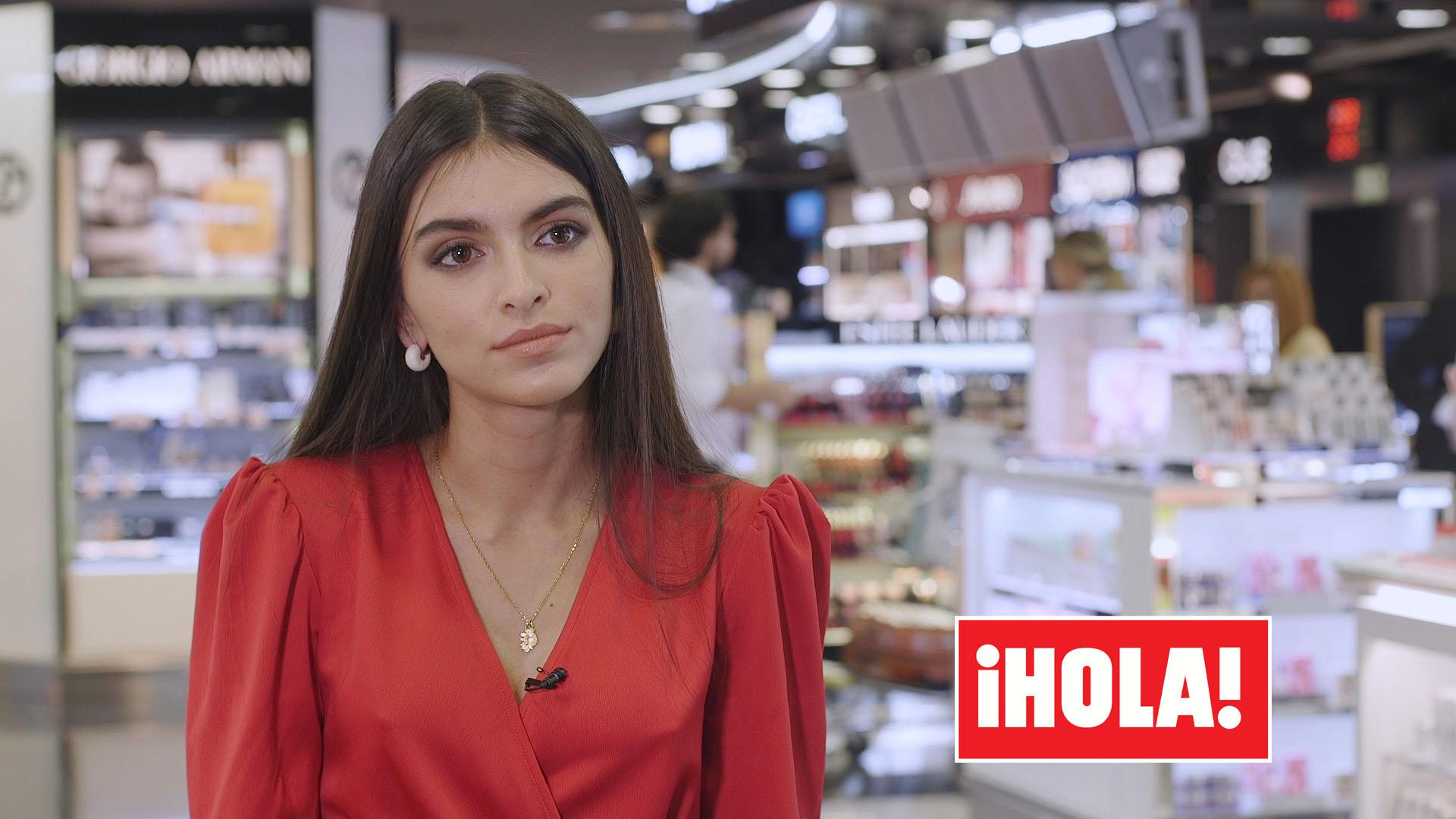Lucía Rivera muestra todo el apoyo a su padre Cayetano, en HOLA.com