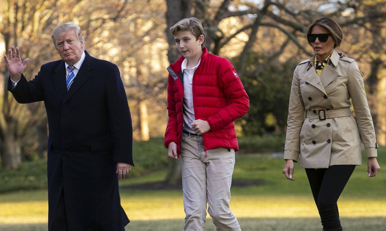Melania Trump saca su lado más protector en defensa de su hijo