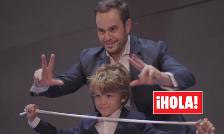 El mago Jorge Blass nos presenta a su mejor ayudante: ¡su hijo Max!