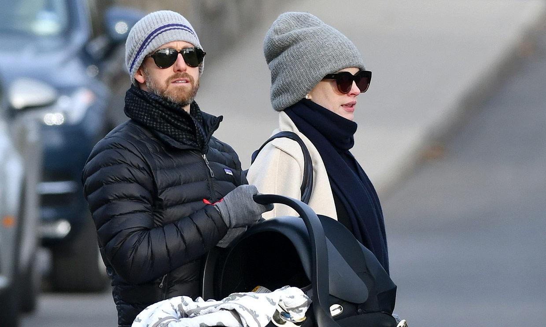 Anne Hathaway ha tenido ya a su segundo hijo y estas fotos lo demuestran