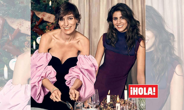 En ¡HOLA!: Eugenia Osborne y su hermana Ana Cristina nos preparan su menú de Navidad