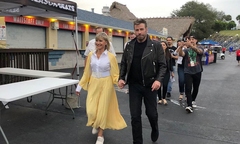 Olivia Newton-John y John Travolta vuelven a vestirse de 'Grease' 41 años después
