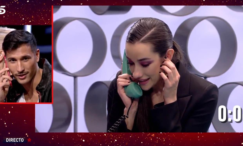 Adara y Gianmarco: Así ha sido su primera conversación telefónica como pareja oficial de 'GH VIP 7'