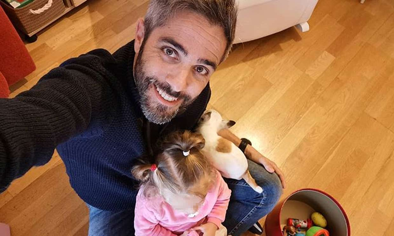Roberto Leal presume de su mayor admiradora: 'Mi hija me reconoce en la tele'