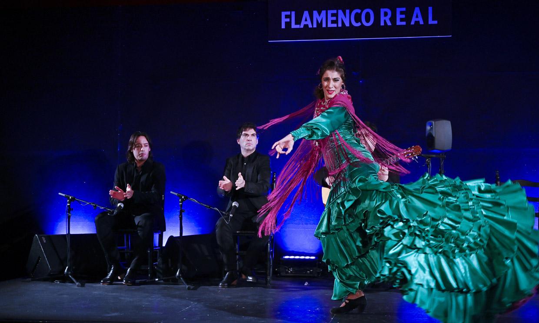 Carmen Lomana, Cristina Hoyos y Toño Molina en la gran noche de flamenco en el Teatro Real