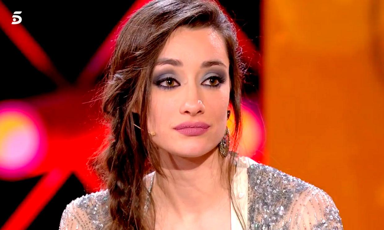 Adara, en shock tras toparse con las declaraciones de Hugo Sierra durante su estancia en 'GH VIP'