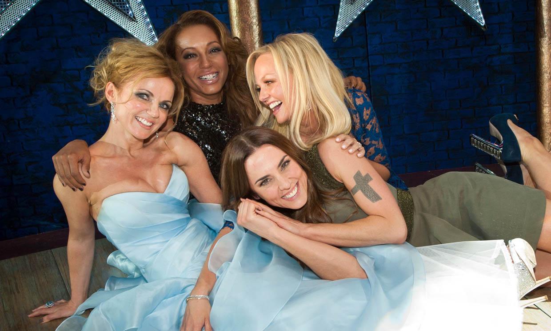 Las Spice Girls se felicitan la Navidad…¡pero se olvidan de Victoria!