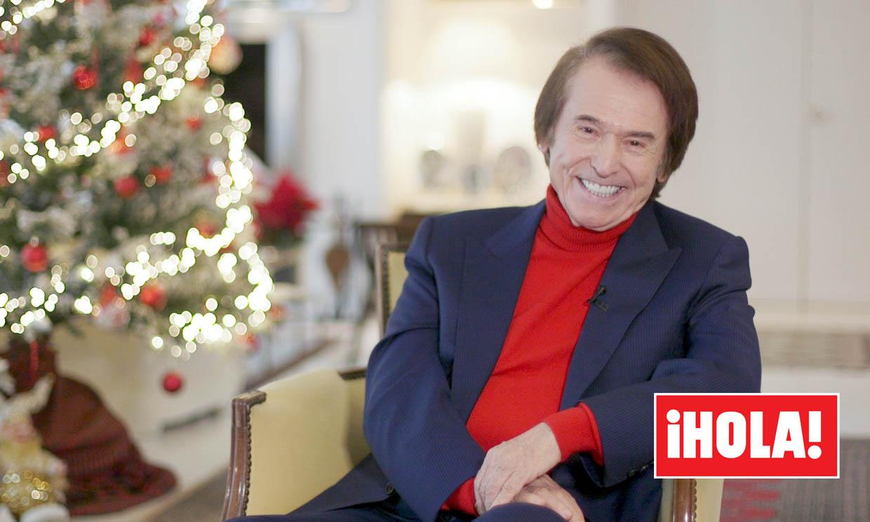 De sus planes en familia a los deseos para 2020: Raphael nos abre las puertas de su casa por Navidad