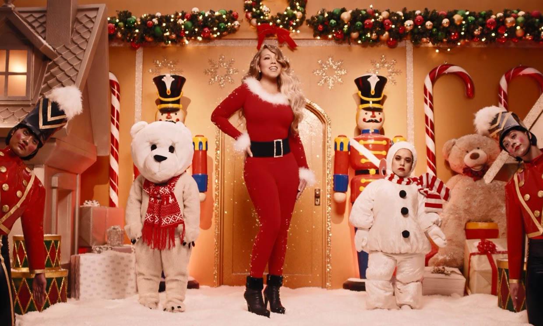 Mariah Carey estrena nuevo videoclip de 'All I want for Christmas is you' para celebrar su número uno en EE.UU