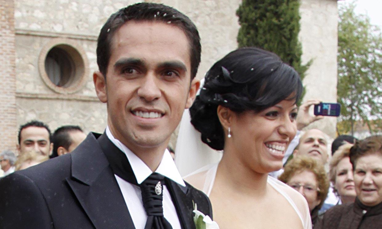 Alberto Contador se separa de su mujer tras veinte años de amor y un hijo en común