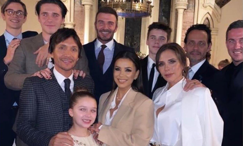 Los Beckham bautizan a Cruz y a Harper Seven con unos 'maravillosos' padrinos