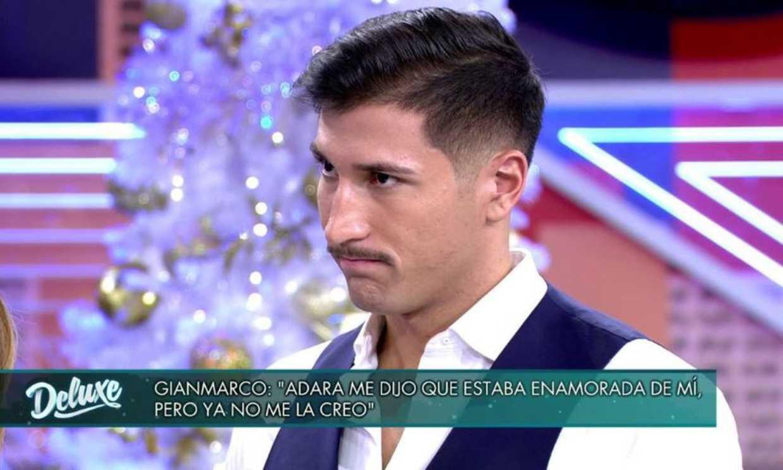 La decepción de Gianmarco ante la actitud de Adara: 'Se fue sin decir nada'