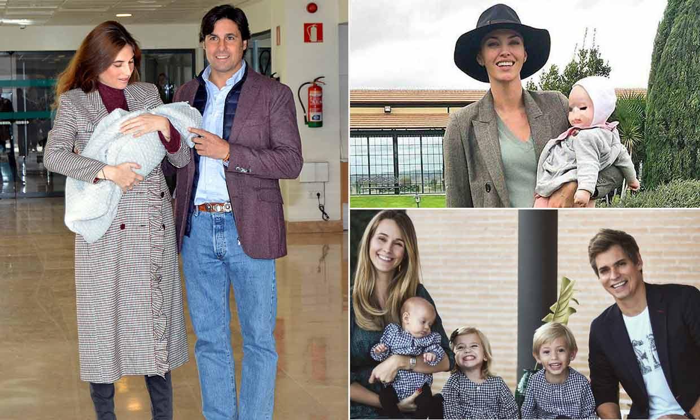 Las familias que dan la bienvenida al nuevo año con un miembro más