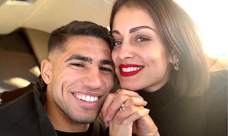 Hiba Abouk y Achraf Hakimi, su última Navidad antes de ser padres entre rumores de vuelta a Madrid