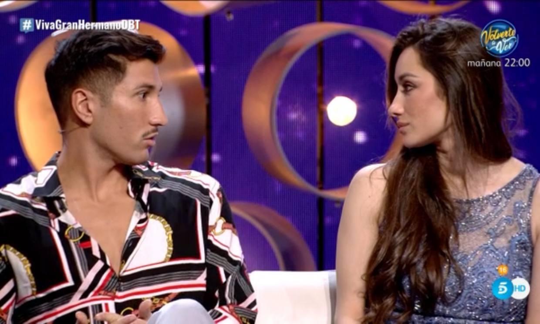 Adara revela en el Debate de 'GH VIP' algunos de los motivos de su distanciamiento de Gianmarco