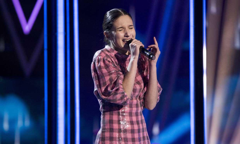 Una deslumbrante Irene Gil se proclama ganadora de 'La Voz Kids'