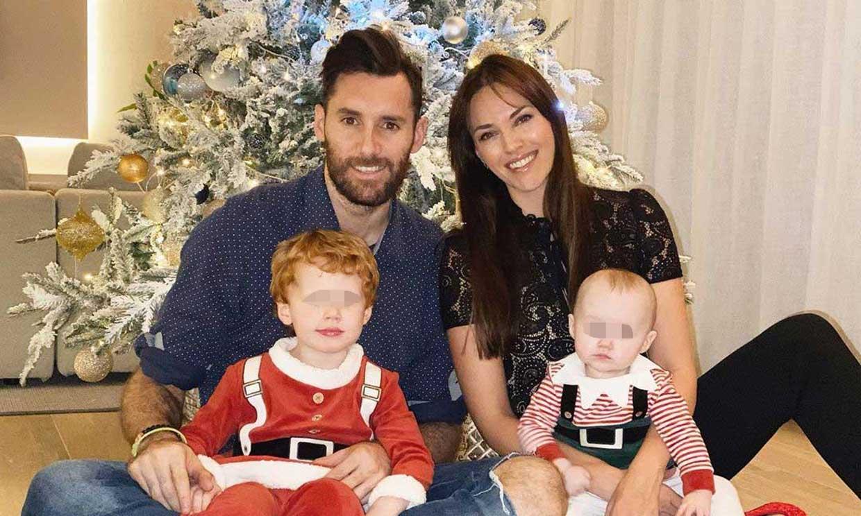 Helen Lindes disfruta de una 'helada' y creativa Navidad en familia