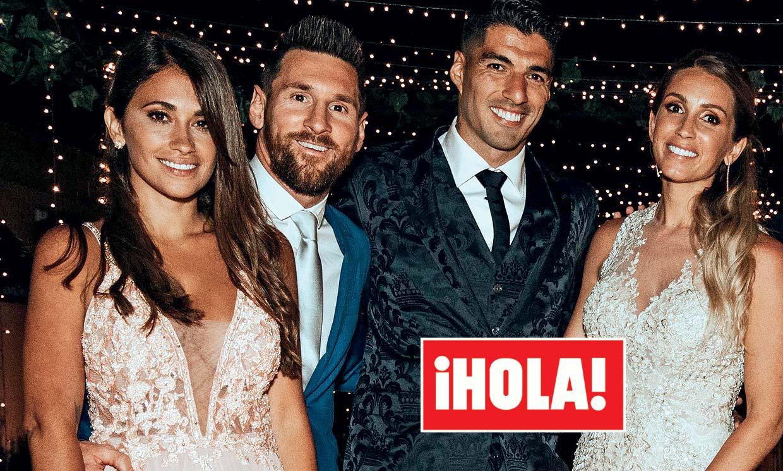 En ¡HOLA!, la boda de las estrellas, Luis Suárez y Sofía Balbi celebran diez años de amor