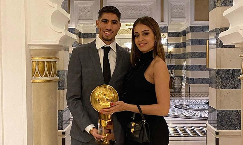 Hiba Abouk, orgullosa de su novio en la cuenta atrás de su embarazo