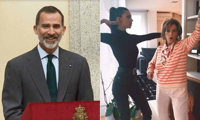 Del lapsus del Rey al baile de María Teresa Campos: los 10 momentos más divertidos del 2019