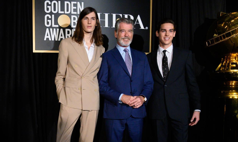 Así son los hijos de Pierce Brosnan que ejercerán de embajadores de los Globos de Oro
